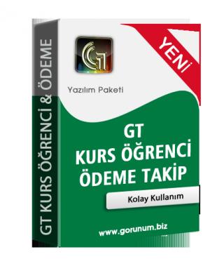 GT Kurs Takip & Ödeme Sistemi